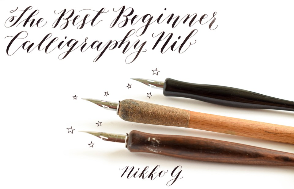 The best beginner calligraphy nib the postman39s knock for Calligraphy pen letters