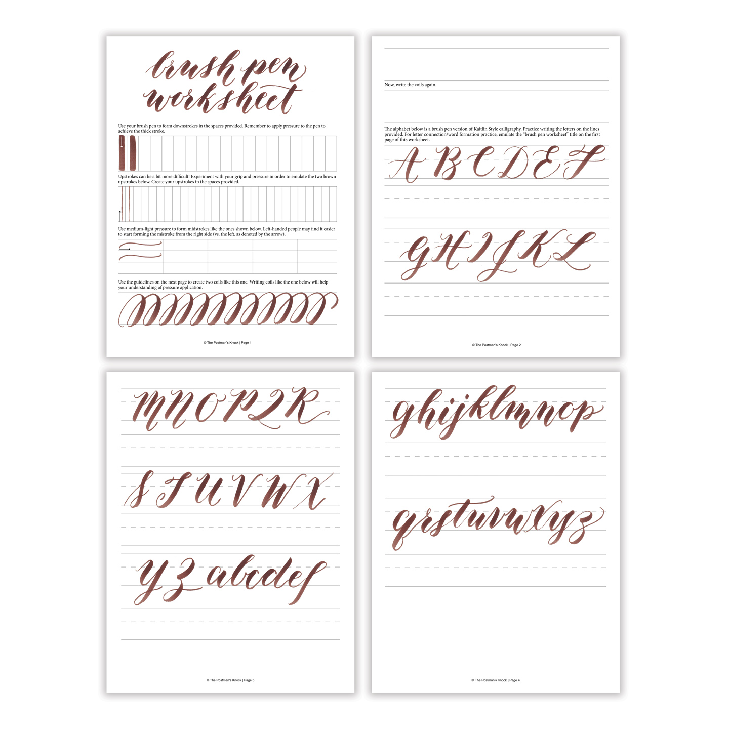 Printable Brush Teeth Worksheet