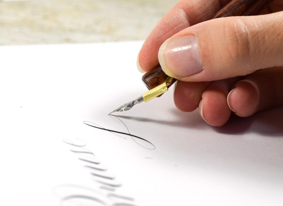 Calligraphy Nib Spotlight: The Brause EF66