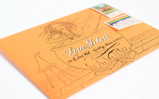 3 Artistic Halloween Stationery Projects   The Postman's Knock