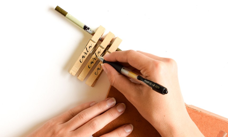 Creating Calligraphy on Non-Traditional Surfaces | The Postman's Knock