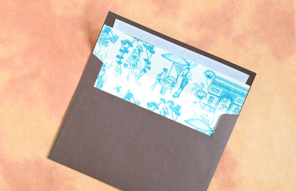 How To Make Diy Envelope Liners The Postman 39 S Knock