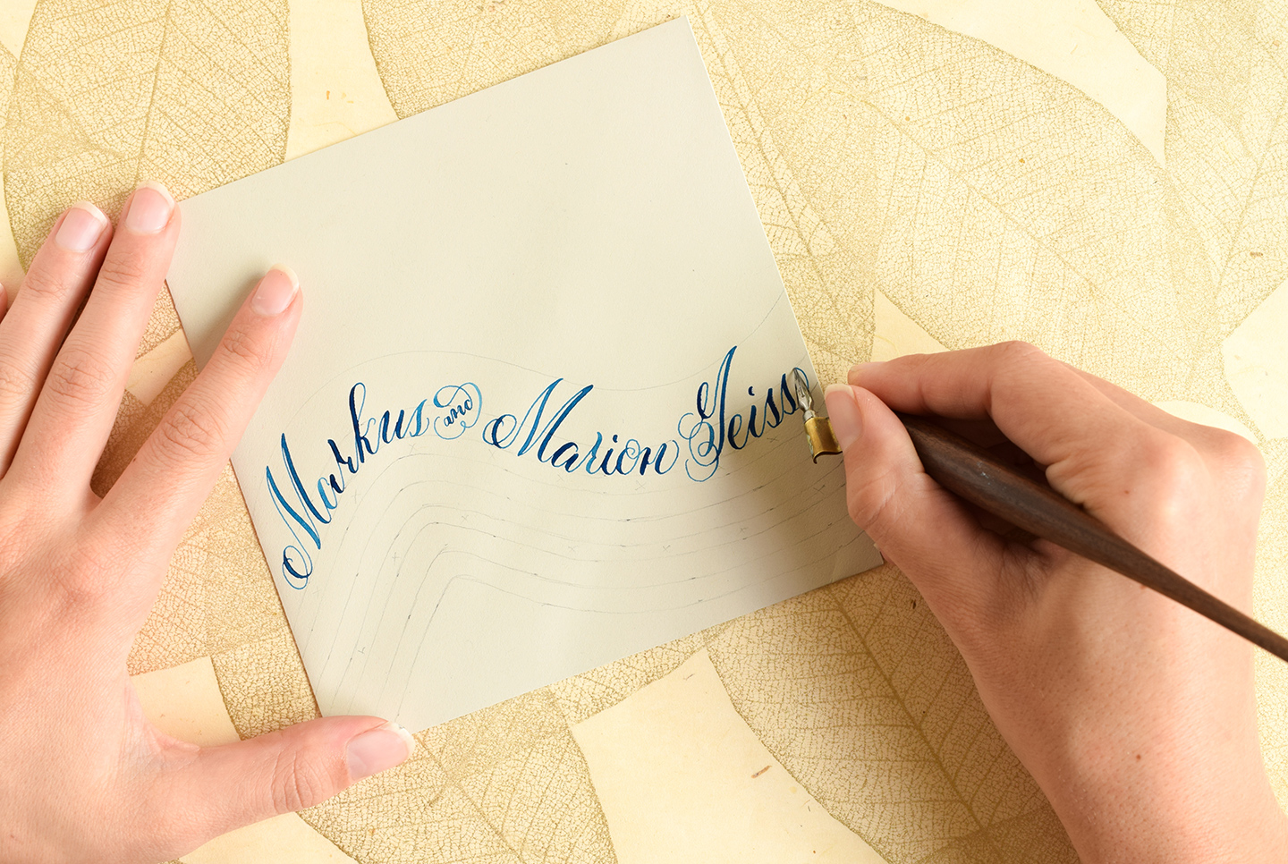 Calligraphy spacing tips and techniques the postman s knock