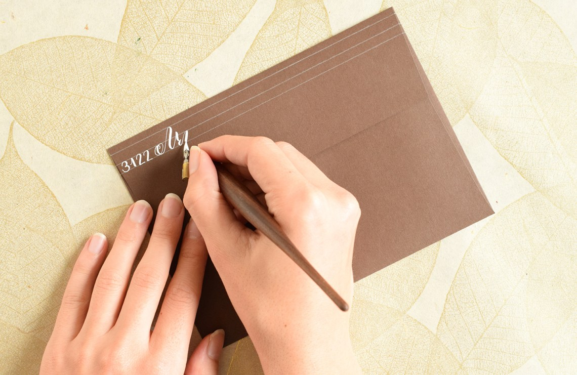 Four Artistic Ways to Write a Return Address | The Postman's Knock