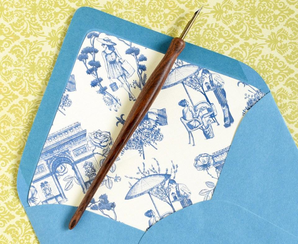 Printable Paris-Themed Tuile Pattern   The Postman's Knock
