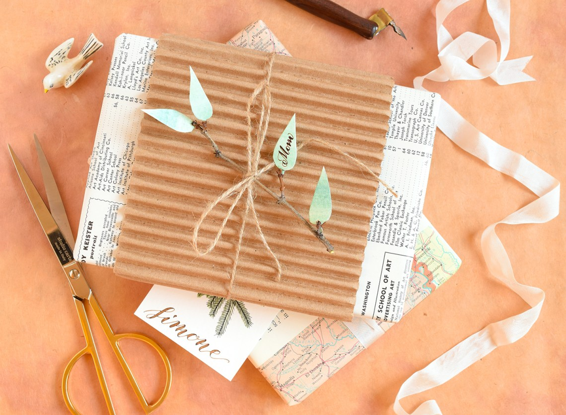 DIY Holiday Gift Tags Tutorial (Part II) | The Postman's Knock