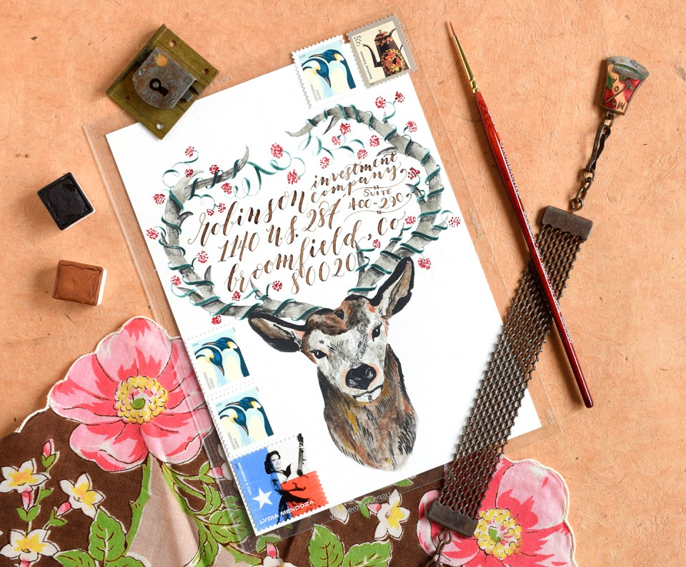 Four Mail Art Mini-Tutorials | The Postman's Knock