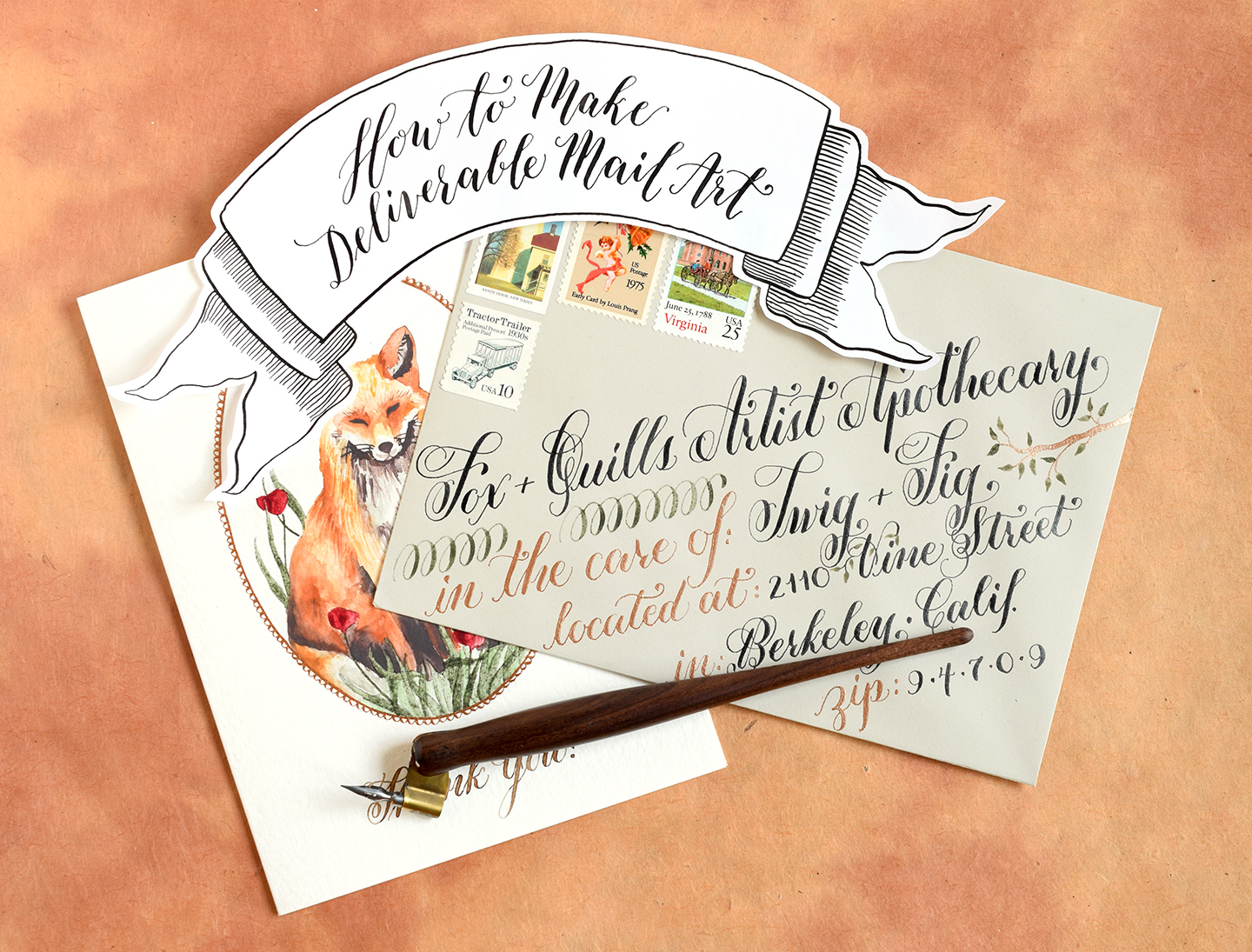 How to Make Deliverable Mail Art – The Postman's Knock