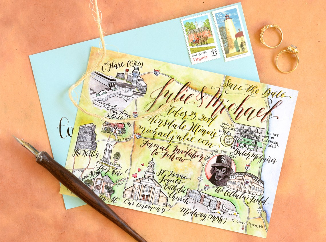5 Ways to Keep Your Calligraphy Creation Fresh and Fun   The Postman's Knock