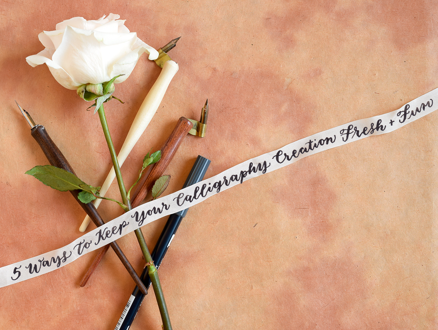 5 Ways to Keep Your Calligraphy Creation Fresh and Fun | The Postman's Knock