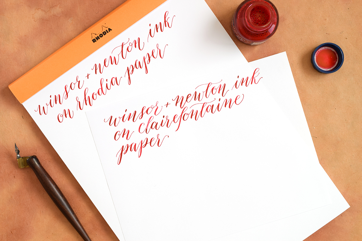 Best calligraphy papers for practice and projects the postman s