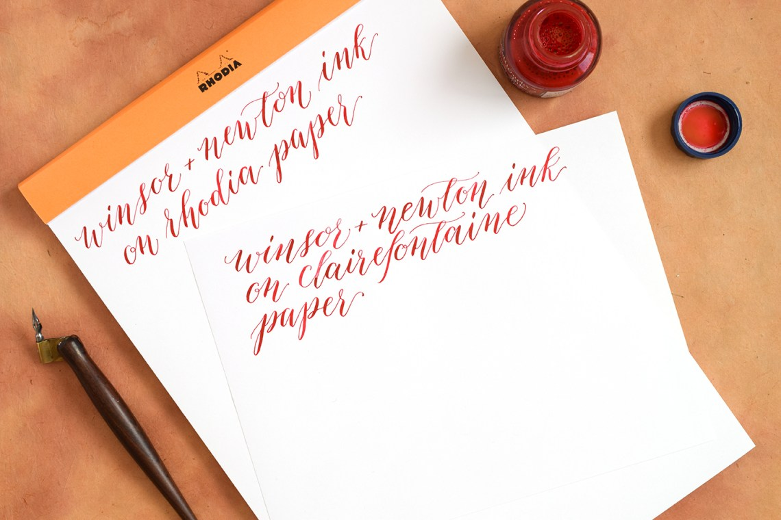 The Best Calligraphy Papers For Practice And Projects