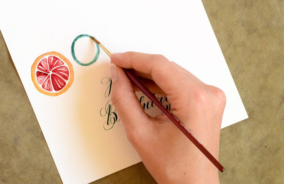 Design Motif Tutorials Part II: Citrus Fruits | The Postman's Knock