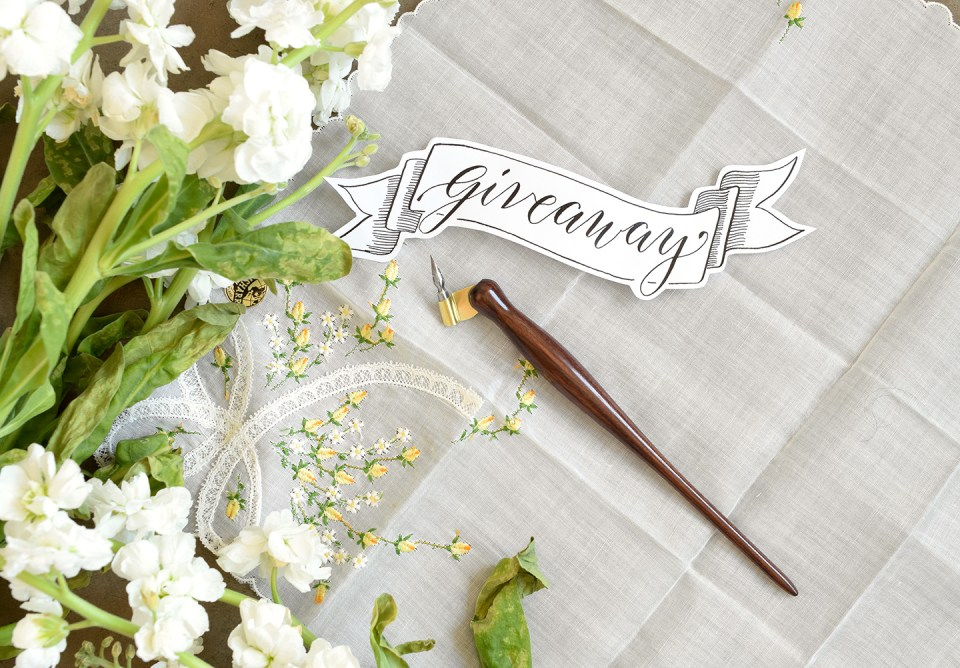 A Holiday Oblique Calligraphy Pen Giveaway! (December 2015) | The Postman's Knock