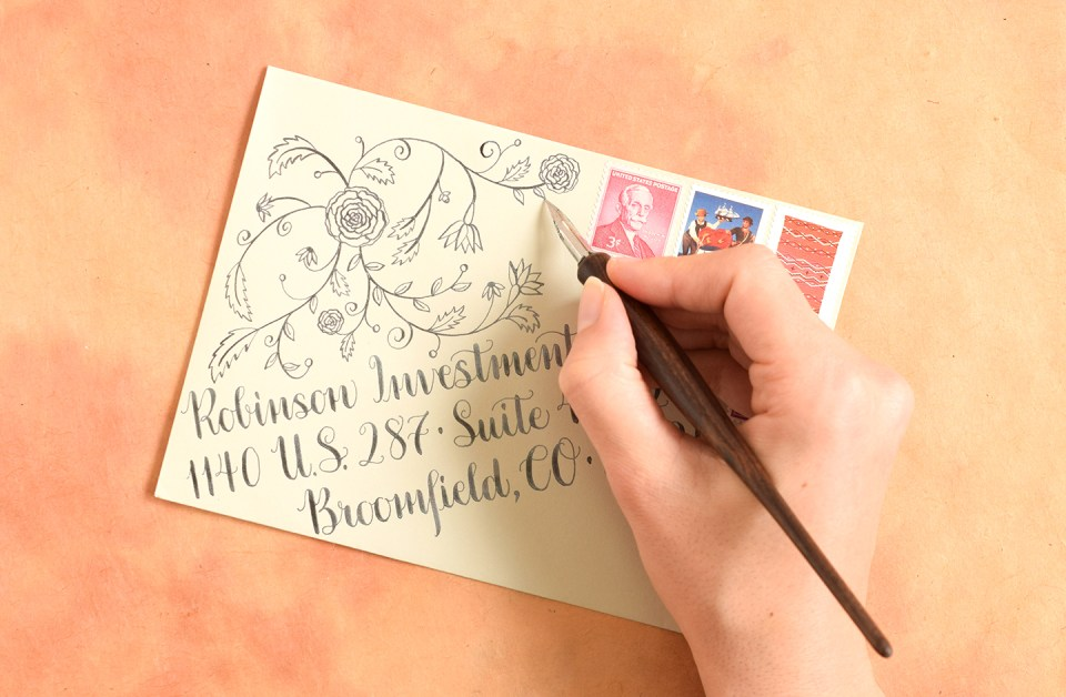 Design Motif Tutorials Part I: Roses and Swirls | The Postman's Knock