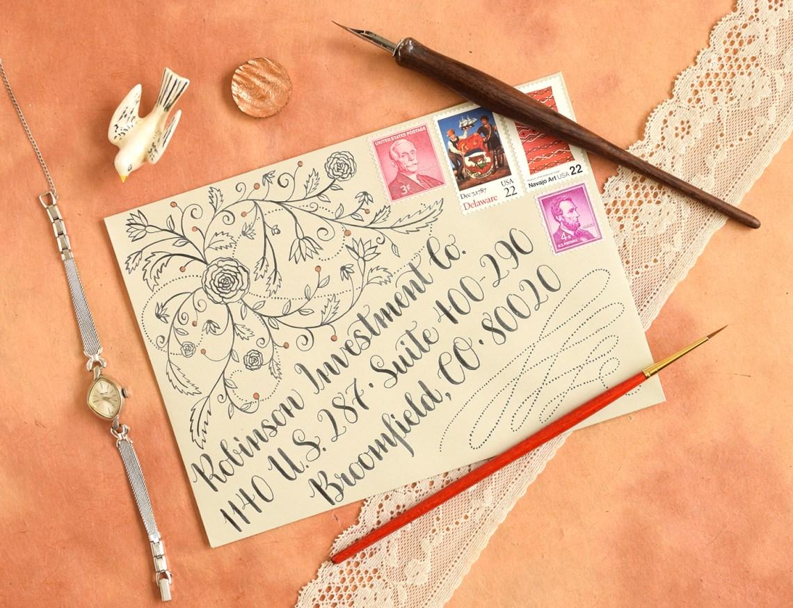 Design Motif Tutorials Part I: Roses and Swirls   The Postman's Knock