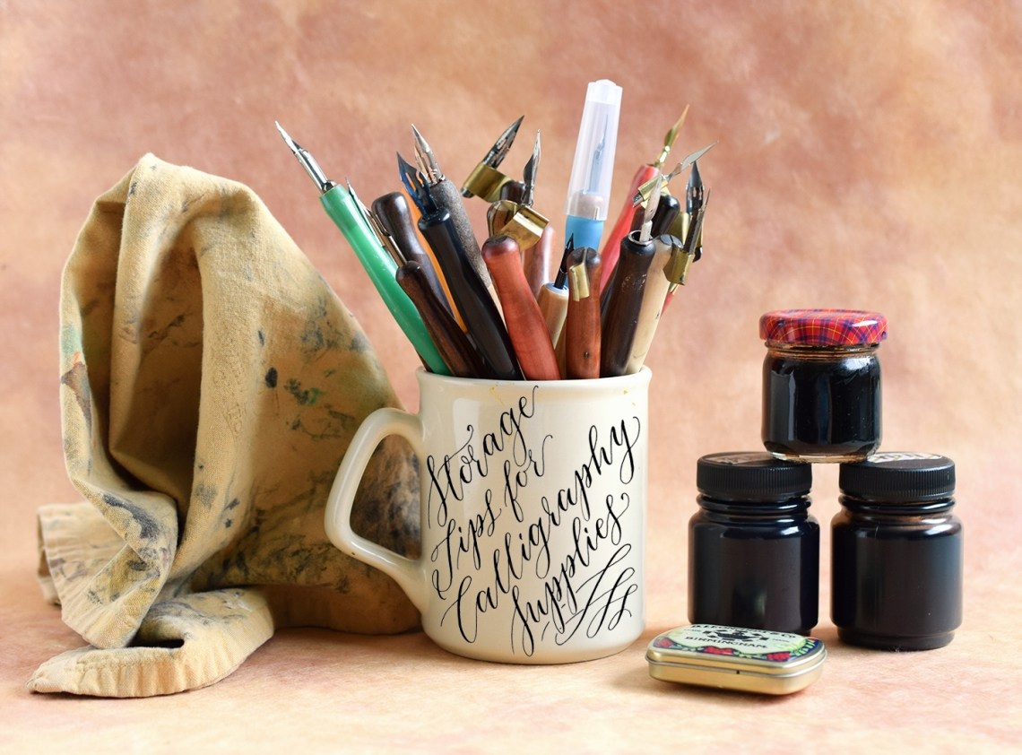 Storage Tips for Calligraphy Supplies | The Postman's Knock