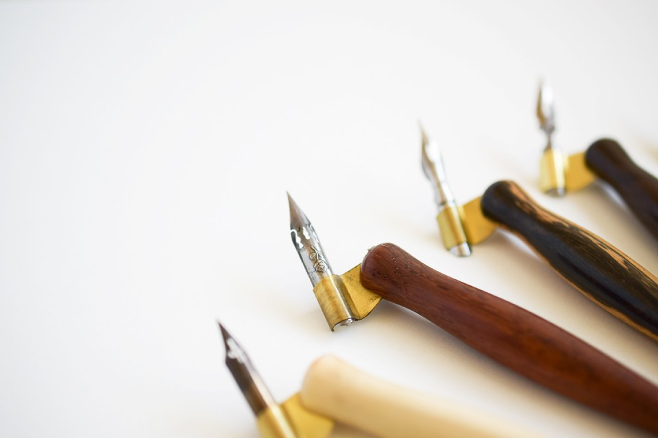 Behind the Scenes: Making a Calligraphy Pen   The Postman's Knock