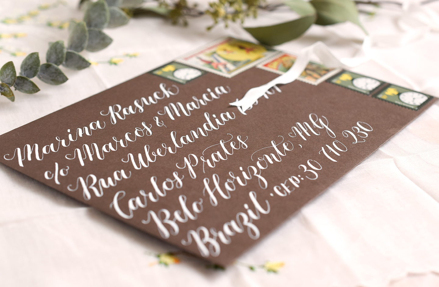 Kaitlin Style Calligraphy | The Postman's Knock