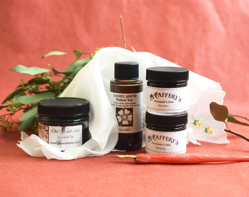 Calligraphy Ink Recommendations: Earthy Hues | The Postman's Knock