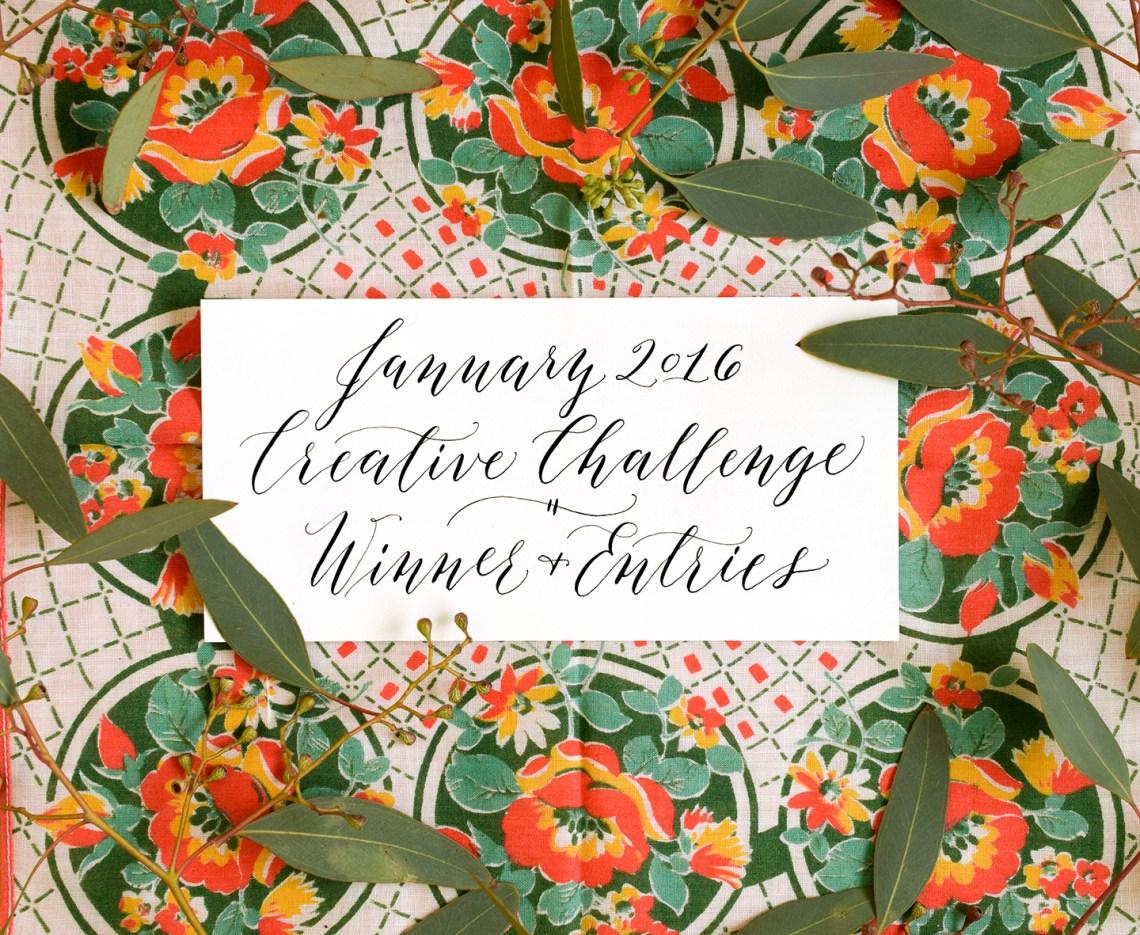 January 2016 Creative Challenge Winner + Entries | The Postman's Knock