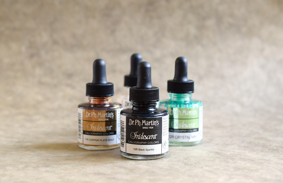 Dr. Ph. Martin's Iridescent Inks | The Postman's Knock