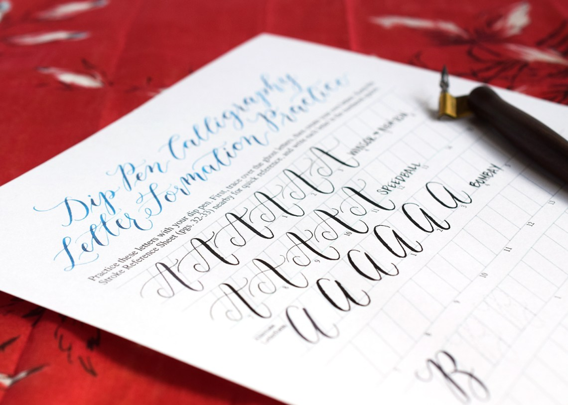 Black Calligraphy Inks Comparison Part II: Bombay, Speedball, and Winsor & Newton | The Postman's Knock