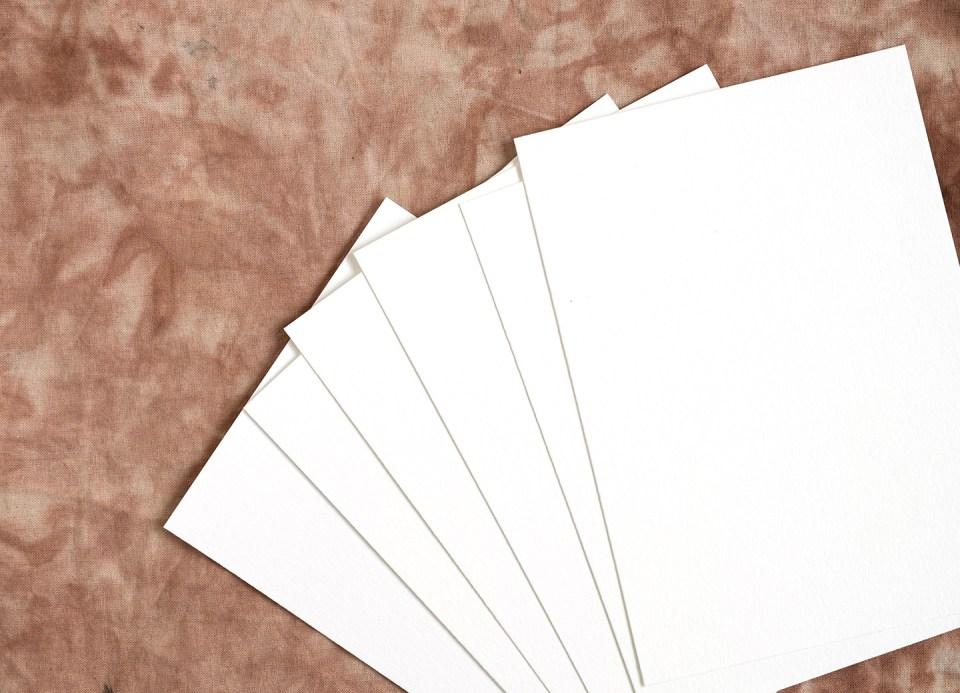 DIY Fabric Invitations | The Postman's Knock