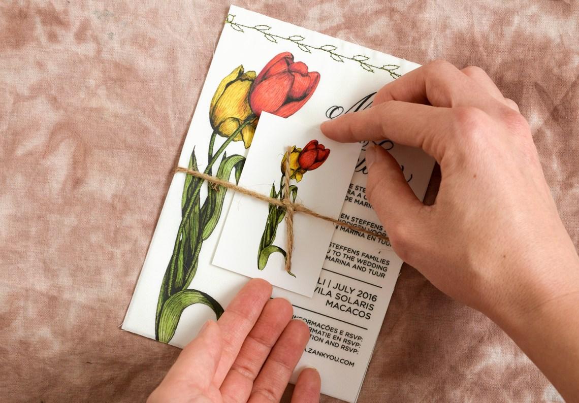 DIY Fabric Invitations   The Postman's Knock