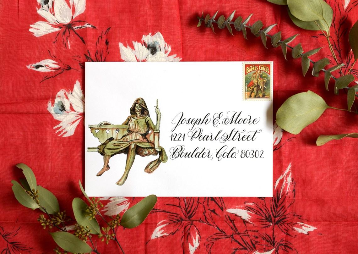 Three Envelope Art Mini-Tutorials | The Postman's Knock