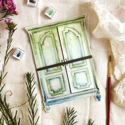 Creative Birthday Card Tutorial: Paper Armoire   The Postman's Knock