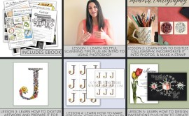 Digitizing Artwork and Calligraphy eCourse   The Postman's Knock