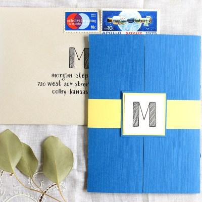 Lettered Handmade Birthday Card Tutorial
