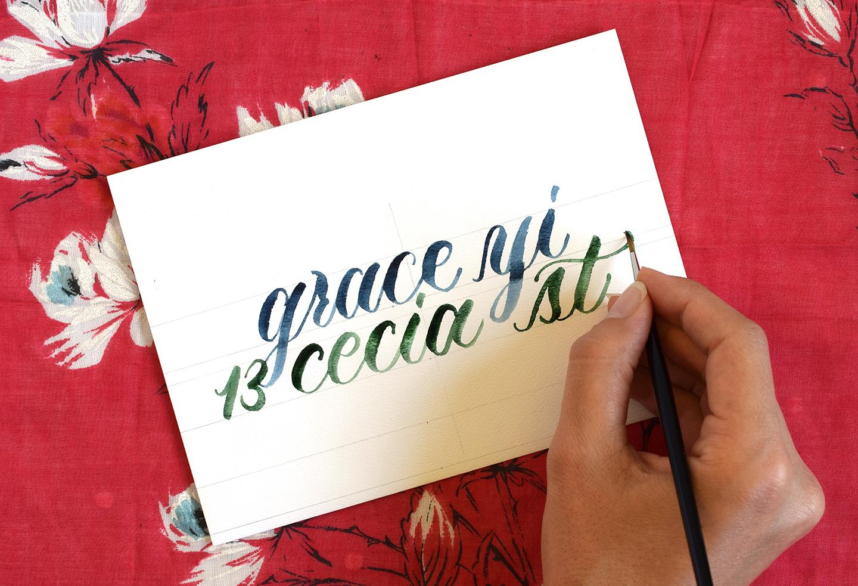 A beginner s guide to modern calligraphy julia bausenhardt