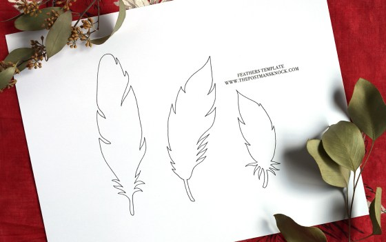 Paper Feathers Tutorial   The Postman's Knock