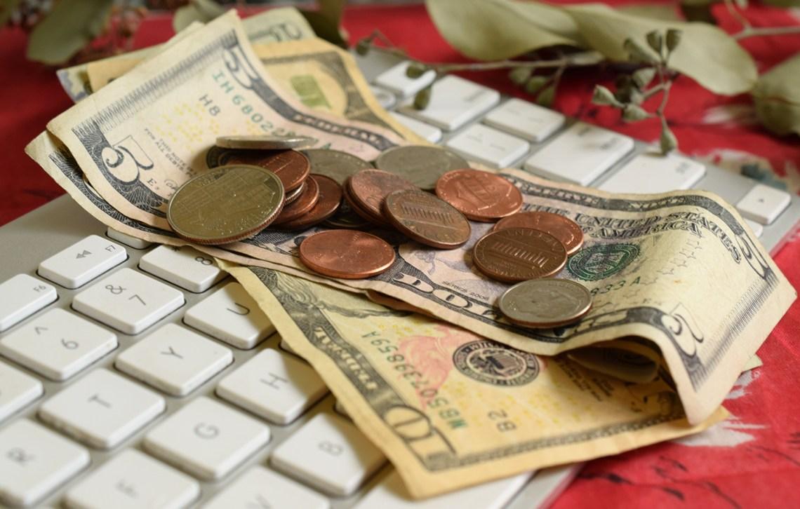 Money on Keyboard | The Postman's Knock