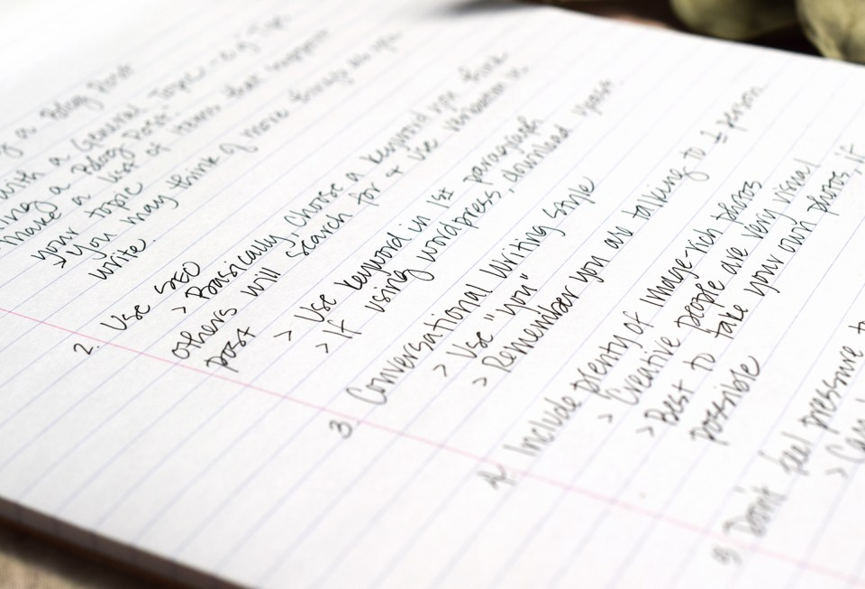 Six Tips for Writing a Blog Post   The Postman's Knock
