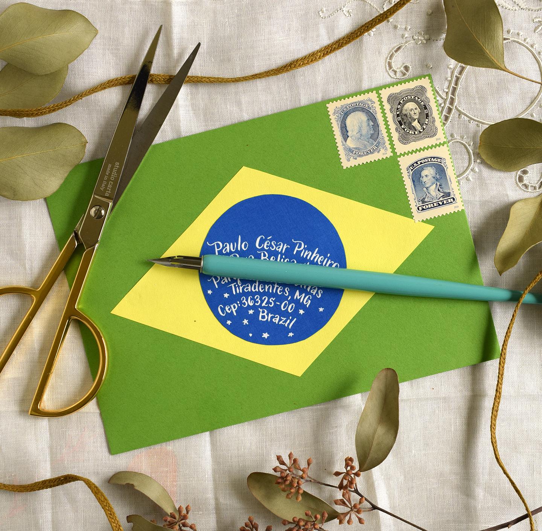 Two International Mail Art Tutorials | The Postman's Knock