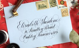 Four Simple Envelope Embellishments: Part I | The Postman's Knock