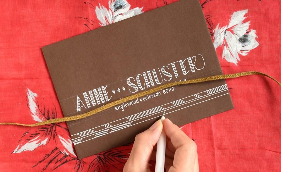 Four Simple Envelope Embellishments: Part II | The Postman's Knock