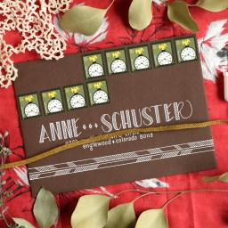 Four Simple Envelope Embellishments: Part II   The Postman's Knock