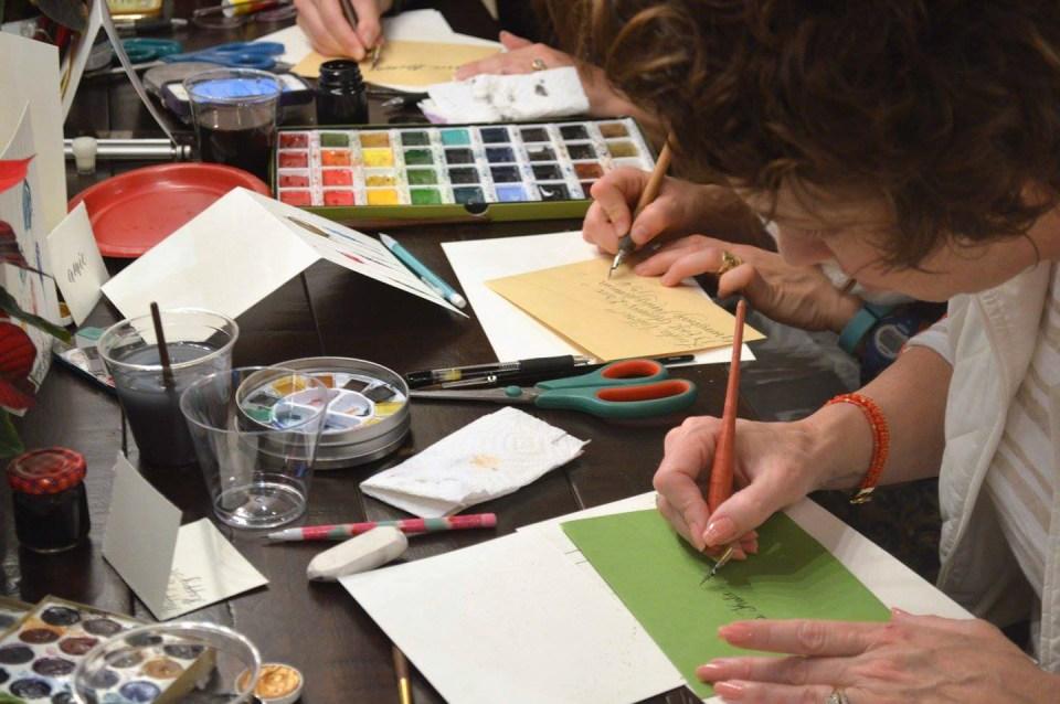 Fall West Coast Modern Calligraphy Workshops | The Postman's Knock