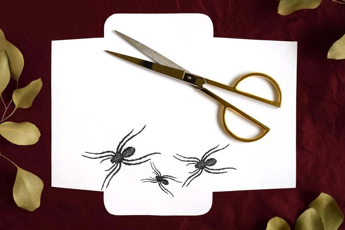 Spider Halloween Mail Art Printables | The Postman's Knock