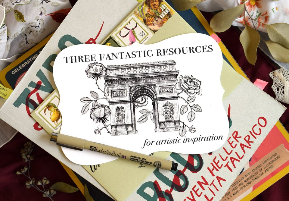 Three Fantastic Resources for Artistic Inspiration | The Postman's Knock