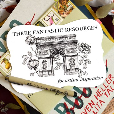 Three Fantastic Resources for Artistic Inspiration