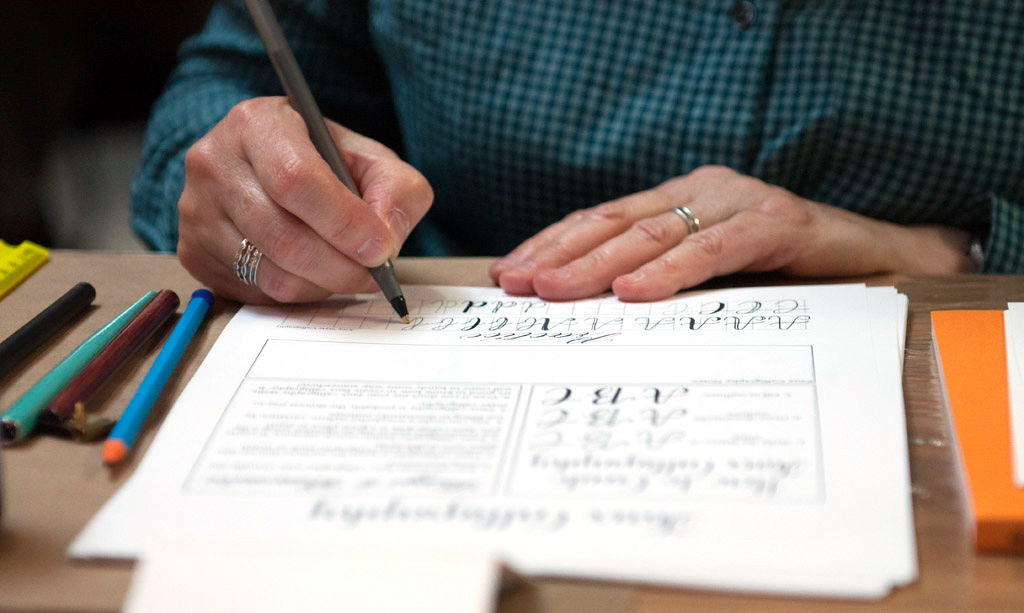 Fall 2016 New York + Florida Modern Calligraphy Workshops   The Postman's Knock