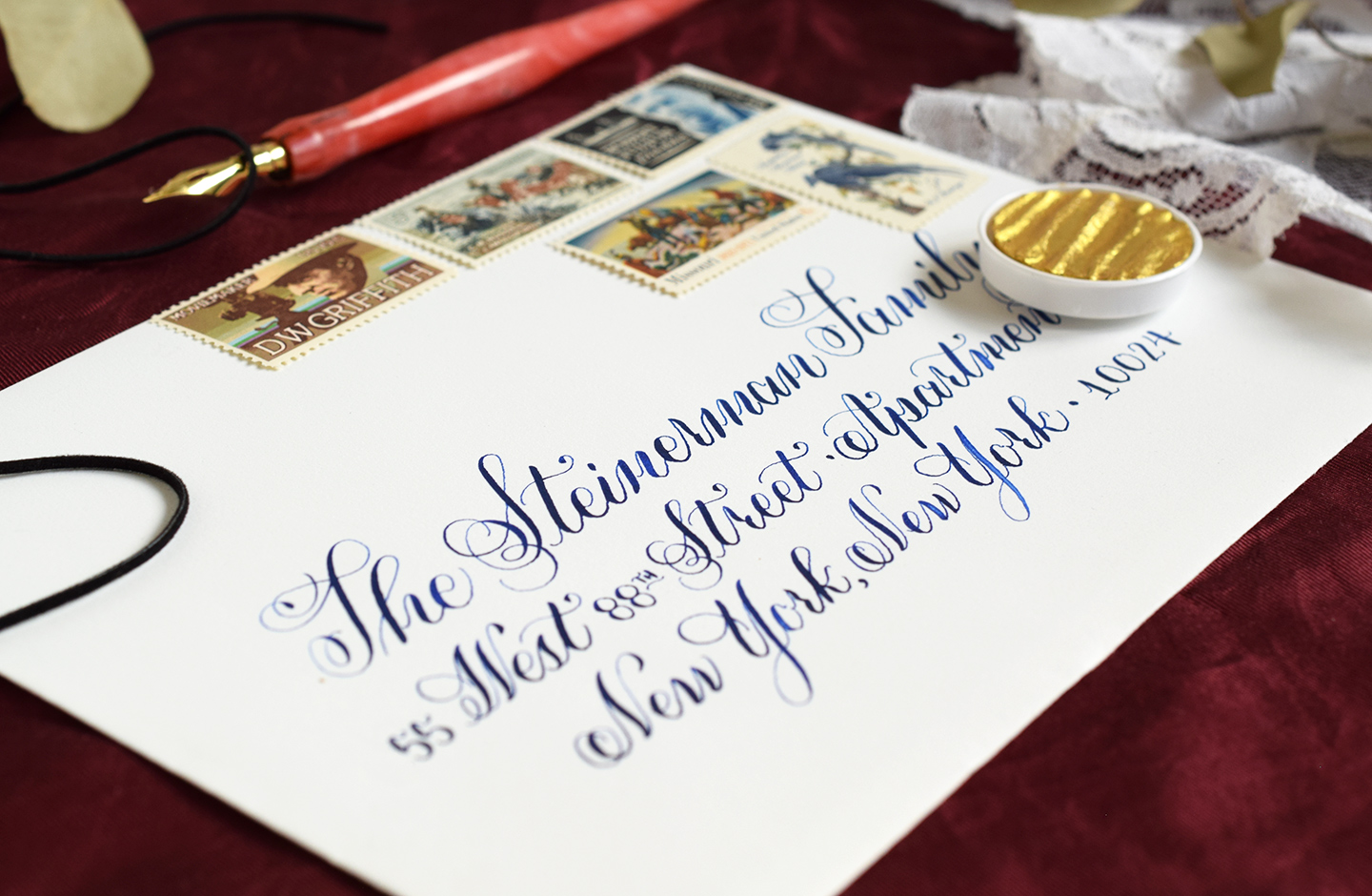 How to make extra income selling calligraphy the postman s knock