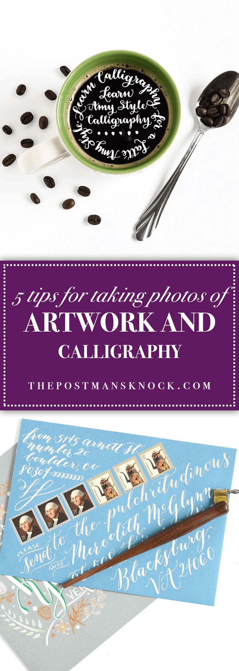 5 Tips for Taking s of Artwork and Calligraphy