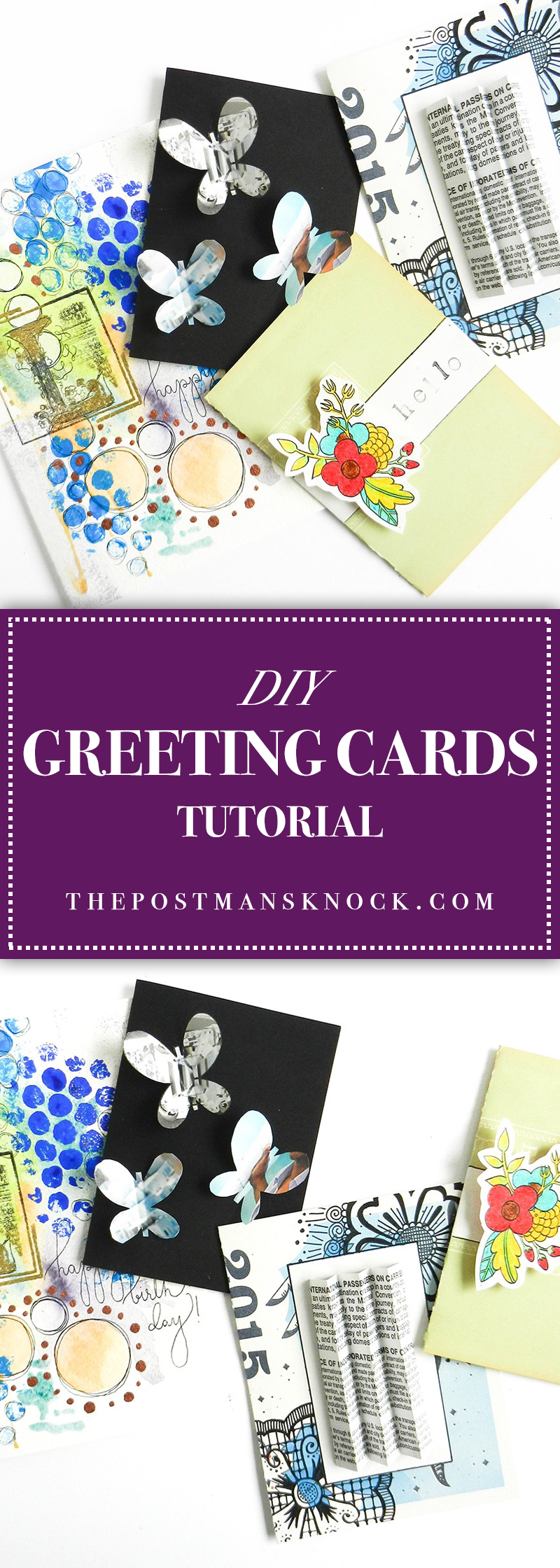 Diy greeting cards tutorial the postmans knock it dawned on me the other day that i dont write about cards a lot with the exception of the most recent tpk blog post i mostly focus on envelopes kristyandbryce Choice Image