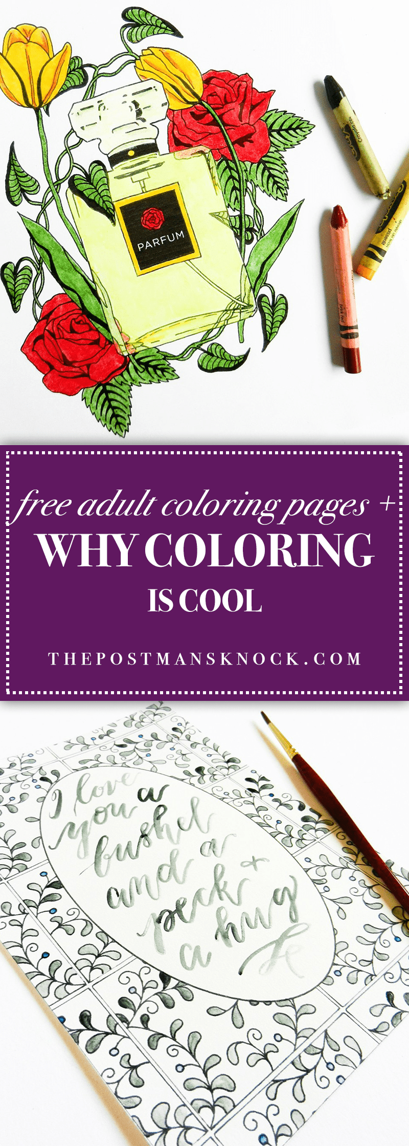 free coloring pages why coloring is cool the postman u0027s knock